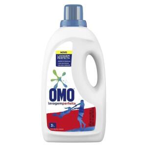 Lava Roupas Líquido Omo Lavagem Perfeita 3 L - R$17
