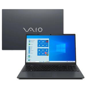 "Notebook VAIO Core i7-10510U 8GB 1TB Tela 15.6"" Windows 10 FE15 VJFE5211X-B0211H R$ 3.899"