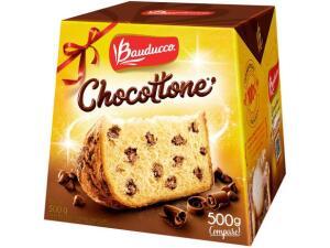[Cliente Ouro] Chocotone Bauducco Chocolate - 500g | R$9