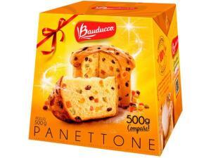 Panetone Bauducco Tradicional - 500g | R$10