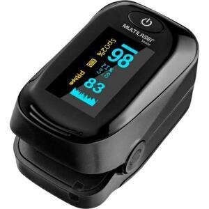 Oxímetro Digital de Dedo Pulso Portátil com Curva Plestimográfica Multilaser HC261