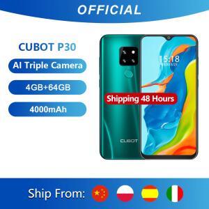 Smartphone Cubot P30 4 GB + 64 GB câmera tripla | R$500