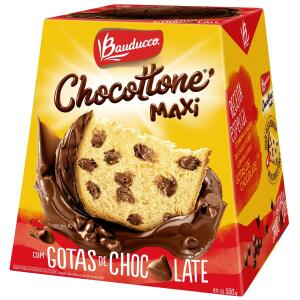 Chocottone Maxi Chocolate BAUDUCCO Caixa 500g | R$13