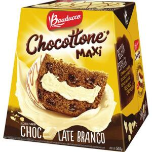 Chocottone Maxi BAUDUCCO Sabor Chocolate Banco 500g | R$13