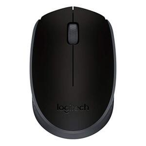 Mouse sem fio Logitech M170 com Design Ambidestro Compacto - Preto | R$57