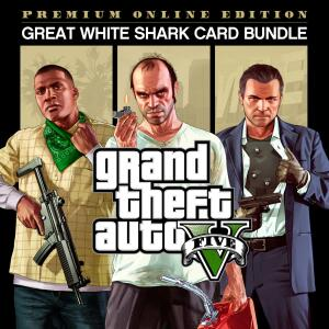 Jogo Grand Theft Auto V: Edição Premium Online e Cartão Tubarão Branco - PS4 | R$84
