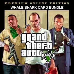 Jogo Grand Theft Auto V: Edição Online Premium e Pacote de Dinheiro Tubarão-Baleia - PS4 | R$100