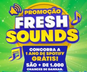Mentos Fresh Sounds - Concorra a 1 ano de Spotify grátis!
