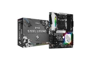 Placa Mãe ASRock B450 Steel Legend, Chipset B450, AMD AM4, ATX, DDR4 | R$889