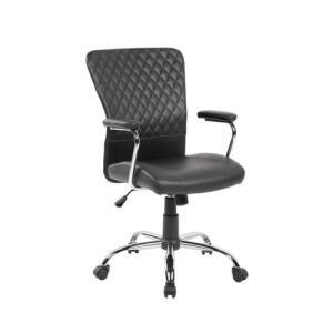 Cadeira de escritório Diretor Richard TM Preta | CC + AME: R$284
