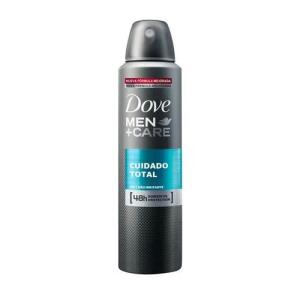 9 unidades - Desodorante Antitranspirante Aerosol Dove Cuidado Total 150ml (total R$49,75)