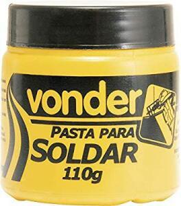 Pasta para Solda com 110 G, Vonder VDO2486 | R$9