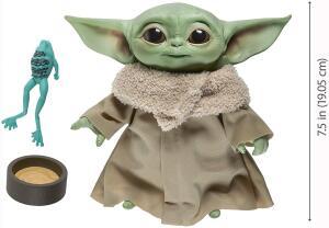[PRIME] Star Wars The Child (Baby Yoda) falante 19,05cm The Mandalorian - Hasbro   R$402