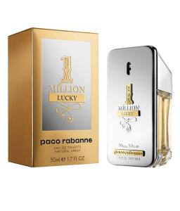 1 Million Lucky Paco Rabanne - Perfume Masculino | R$ 168