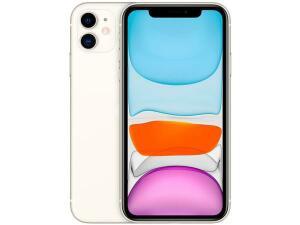 "iPhone 11 Apple 64GB Branco 6,1"" 12MP iOS | R$4.049"