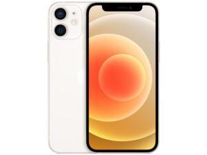 "iPhone 12 Mini Apple 64GB Branco 5,4"" - Câm. Dupla 12MP iOS | R$ 4609"