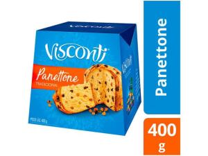 Panetone Visconti 400gr | R$ 2,30