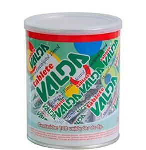 [PRIME] Pastilhas Valda, Kit com 100 Tablete de 4g R$53