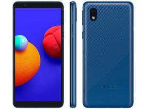 Smartphone Samsung Galaxy A01 Core 32GB Azul | R$ 599