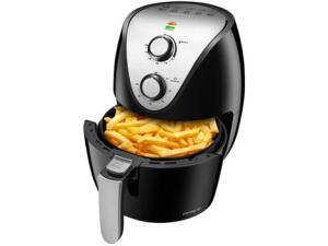 Fritadeira Elétrica sem Óleo/Air Fryer Mondial - Family-IV AF-30I Preta 3,5L | R$ 300