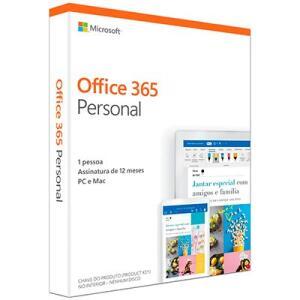 Office 365 Personal Assinatura Anual AOMI0056 - Microsoft PT 1 UN R$99