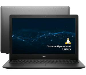 "[ Ouro + R$100 Cashback R$ 2329 ] Notebook DELL Inspiron 15 3000 Intel Core i3 4GB - 256GB SSD 15,6"" - R$2429"