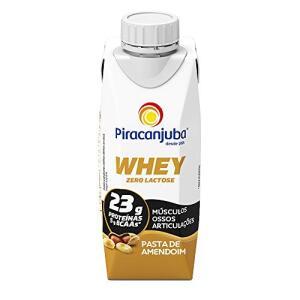 [PRIME] Piracanjuba Whey zero Lactose sabor Pasta de amendoim 40%OFF | R$ 2,39