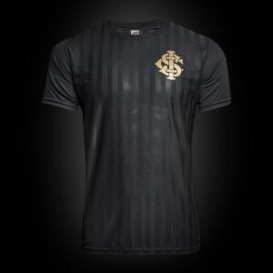 Camisa Internacional Gold Edição Limitada Masculina - Preto | P | R$50