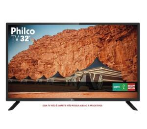 "TV LED 32"" HD Philco PTV32F10D   R$799"