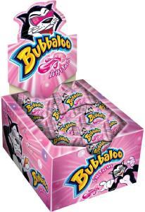 Caixa de chiclete Bubbaloo - 60 unidades | Todos sabores | R$10