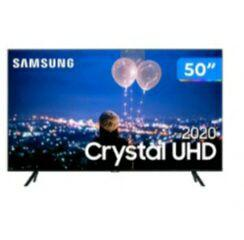 (APP)+(CLIENTE OURO) Smart TV Cristal UHD 4k LED50 Samsung-50TU8000 Wi-fi Bluetooth HDR3 HDMI 2 USB | R$2090