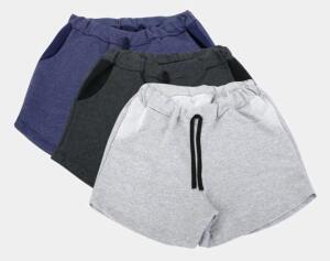 Kit 3 Shorts Costão Fashion Style Feminino | R$54