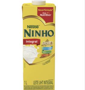 Leite Ninho UHT Integral 1 Litro | R$3,69