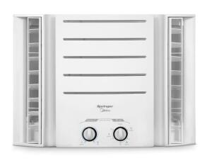Ar-Condicionado Janela Springer Midea QQJ075BB Mecânico Quente/Frio 7.500 Btus 220V - Branco | R$1200