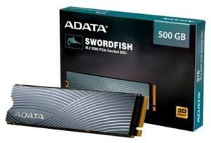 SSD Adata Swordfish, 500GB, M.2 PCIe | R$ 469
