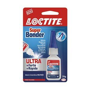 Cola Loctite Super Bonder Ultra 1x20g | R$ 11
