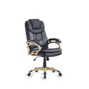 [R$581 c/ Ame] Cadeira de Escritório Presidente Giratória Clark Preta - R$830