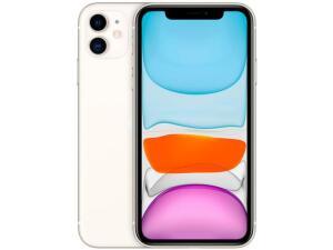 "iPhone 11 Apple 64GB branco, Tela de 6,1"", Câmera Dupla de 12MP, iOS - R$4073"
