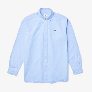 Camisa masculina Lacoste LIVE Relaxed Fit em algodão R$189