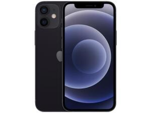 "iPhone 12 mini Apple 128GB PretoTela de 5,4"" - R$5625"
