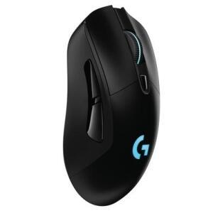 Mouse Sem Fio Gamer Logitech G703 Hero 16k Lightspeed, Recarregável, RGB Lightsync, 6 Botões, 16000 DPI | R$ 350