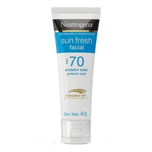 Protetor Solar Facial Neutrogena Sun Fresh FPS70 40g   R$ 11