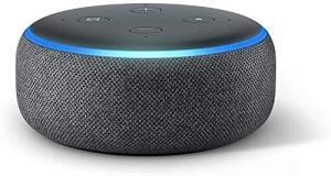 Echo Dot (3ª Geração): Smart Speaker com Alexa - Cor Preta R$198