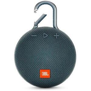 Caixa de Som JBL Clip 3, Bluetooth, À Prova D´Água, 1x3W, Azul - JBLCLIP3BLU R$280