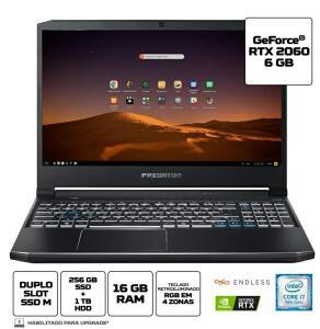 [R$6.578 AME] Notebook Gamer Predator Helios PH315-52-79VM| R$6.956