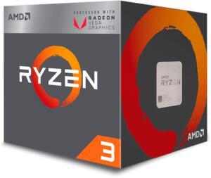 Processador AMD Ryzen 3 2200G Quad-Core 3.5GHZ (3.7GHZ TURBO)