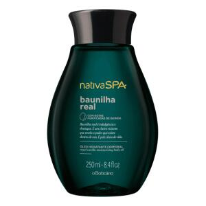 Óleo Desodorante Hidratante Corporal Nativa SPA Baunilha Real 250ml   R$41