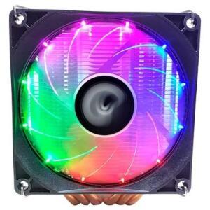 CPU Cooler Rise Mode Gamer G800,6 heat pipes, 2 torres - 2x90mm, RGB - RM-AC-O8-RGB | R$144
