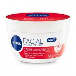 Creme Hidratante Facial Nivea Antissinais 100g | R$ 14,54