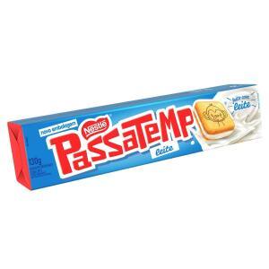 4 Unidades Biscoito Passatempo Leite 130g | R$4,48